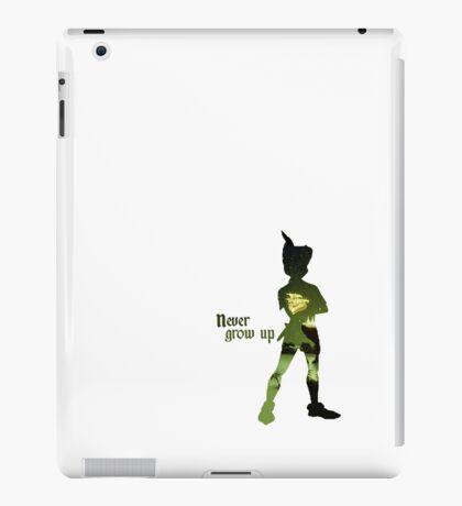 Never Grow Up iPad Case/Skin