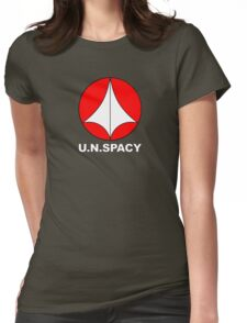 Robotech Macross U.N. Spacy Womens Fitted T-Shirt