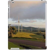 Wind Farm, atherton tableland near cairns,australia iPad Case/Skin