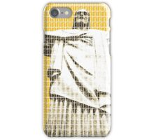 Christ the redeemer - Yellow iPhone Case/Skin