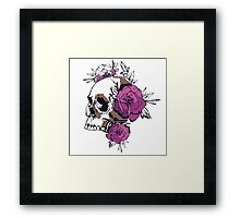 Roses of death Framed Print