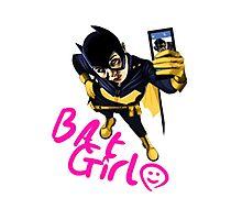 Bat-Selfie Photographic Print