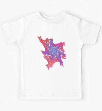 Heart chaos #fractal art Kids Tee
