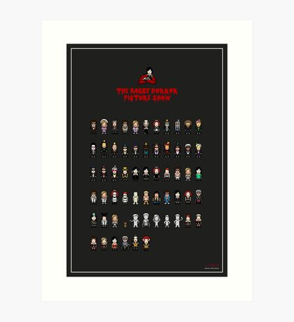 The 8-Bit Rocky Horror Picture Show Art Print