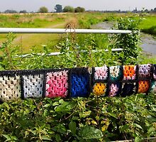 Rural yarn bombing by nigelphoto