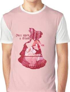 Once Upon a Dream - Pink Graphic T-Shirt