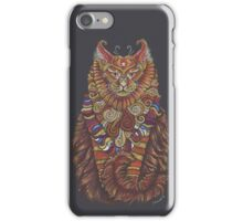 Maine Coon Cat Totem iPhone Case/Skin