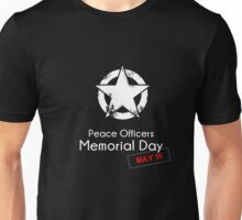 Police Officers Memorial Day T-shirt Gift Unisex T-Shirt