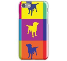 Pop art in the dogs iPhone Case/Skin