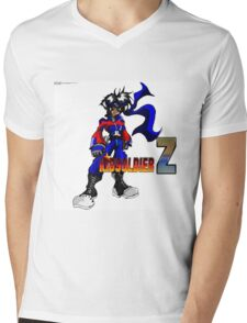 KIDSOLDIER Z Picture Mens V-Neck T-Shirt