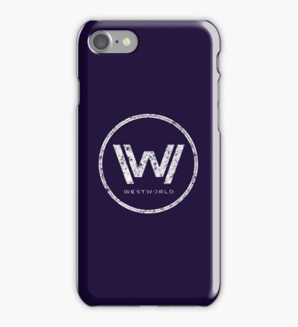 Westworld - everything can happen (rusted version) iPhone Case/Skin