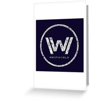 Westworld - everything can happen (rusted version) Greeting Card