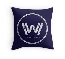 Westworld - everything can happen (rusted version) Throw Pillow