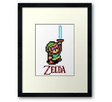 Legend of Zelda 16bit Framed Print