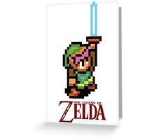 Legend of Zelda 16bit Greeting Card