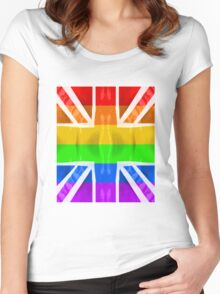 Rainbow jack Women's Fitted Scoop T-Shirt