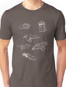 Sci fi Starry Nightsky Unisex T-Shirt