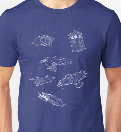 Sci fi Starry Nightsky Unisex T-Shirt