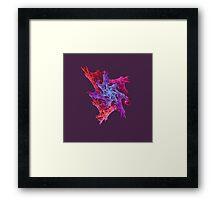Heart chaos #fractal art Framed Print
