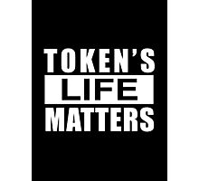 Token's Life Matters – Cartman, South Park Photographic Print