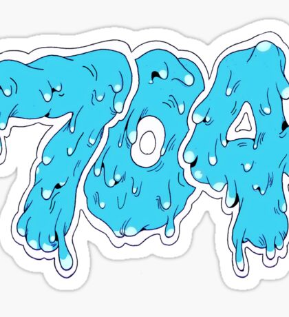 704 Panthers Sticker