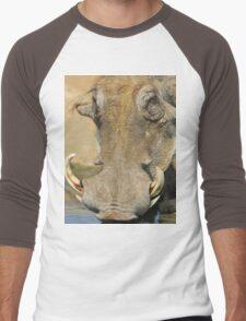 Warthog Pleasure - Quench of Life and Joy Men's Baseball ¾ T-Shirt