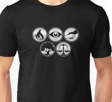 Faction Symbols T-Shirt: Movie and Book Fandom Shirt Unisex T-Shirt