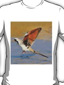 Blur of Flight - Namaqua Dove - African Wildlife T-Shirt