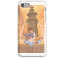 Belle reading iPhone Case/Skin