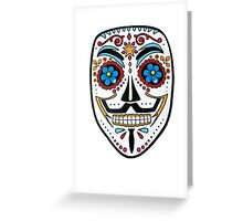 Mexican V Greeting Card