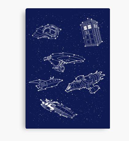 Sci fi Starry Nightsky Canvas Print