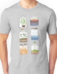 Nature In a Bottle Stickers Unisex T-Shirt