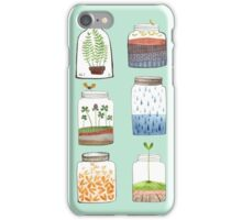 Nature In a Bottle Stickers iPhone Case/Skin