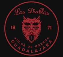 Los Diablos Club de Boxeo - distressed design by JamesShannon
