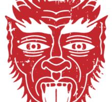 Los Diablos Club de Boxeo - distressed design Sticker