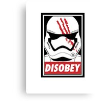 Disobey SW! Canvas Print