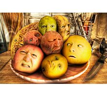 The madness of fruit Photographic Print