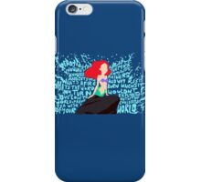 Part of Your World iPhone Case/Skin