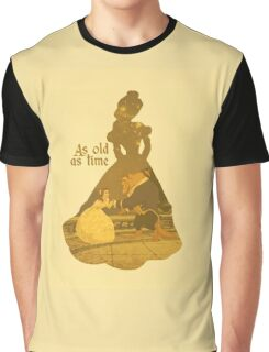 Belle - Yellow Graphic T-Shirt