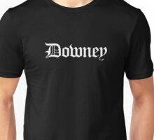 Downey Los Angeles California Old English Font T-Shirt Unisex T-Shirt