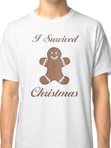 Cute Christmas Gingerbread Man Classic T-Shirt