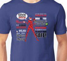 Ladybug Quotes Unisex T-Shirt