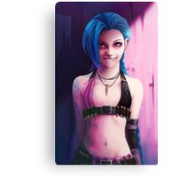 Jinx - It's the Day we Fire Canvas Print