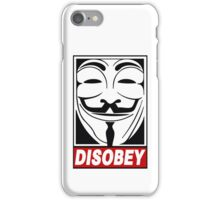 V - Disobey  iPhone Case/Skin