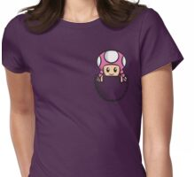 Pocket Toadette Womens Fitted T-Shirt