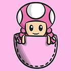 Pocket Toadette by Lauramazing