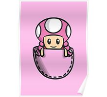 Pocket Toadette Poster