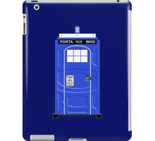 Porta Who iPad Case/Skin