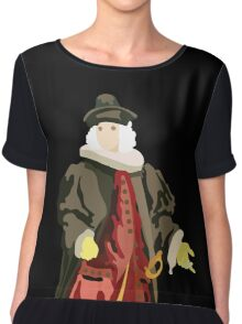 Medieval doctor Chiffon Top
