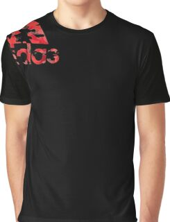 Sleeve Tee Camo Adi Logo Graphic T-Shirt